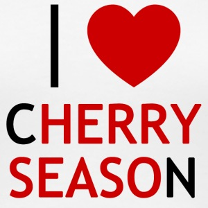 I Love Cherry Season T-Shirt - Maglietta Premium da donna