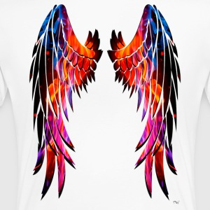 Colours wings - Camiseta premium mujer