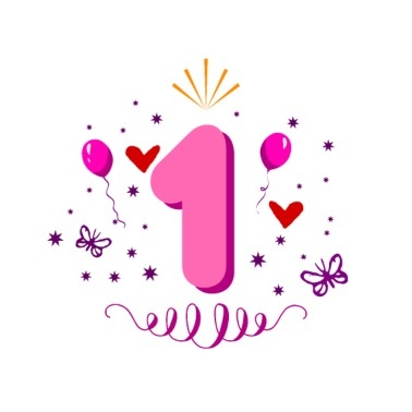 1 Jahr Einhorn Zahl 1 Geburtstag Madchen Geschenk Schwangerschafts T