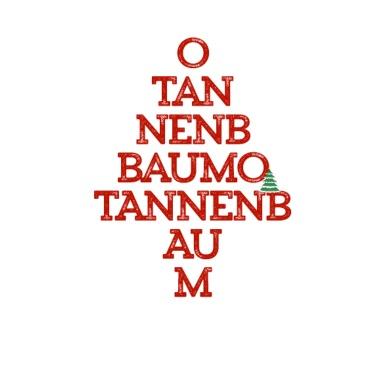 Tannenbaum Lied.O Tannenbaum Women S Wide Neck Sweatshirt Spreadshirt