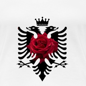 Albanian shirt with double headed eagle rose crown