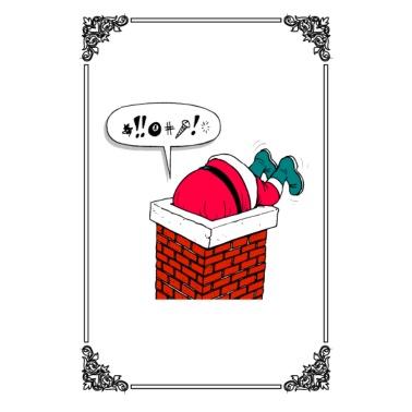 schneemann weihnachten geschenk winter comic frauen. Black Bedroom Furniture Sets. Home Design Ideas