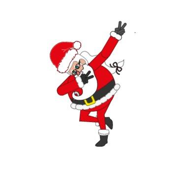 dabbing santa dab einhorn weihnachten geschenk frauen. Black Bedroom Furniture Sets. Home Design Ideas