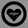 vegan heart - Women's Premium T-Shirt