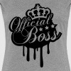 Cool Official Boss King Graffiti - Women's Premium T-Shirt