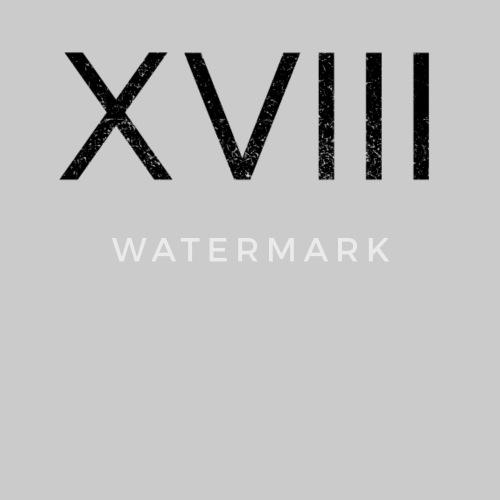 18e Verjaardag Xviii Romeins Getal Vrouwen Premium T Shirt Spreadshirt