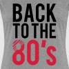 Back to the 80s Logo - Women's Premium T-Shirt