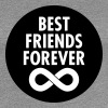Best Friends Forever (Infinity Symbol) - Women's Premium T-Shirt