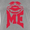 Kiss Me Logo Design - Women's Premium T-Shirt