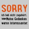 2541614 15695779 sorry - Frauen Premium T-Shirt