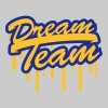 Stamp Graffiti Logo Design Dream Team Freunde Few - Women's Premium T-Shirt