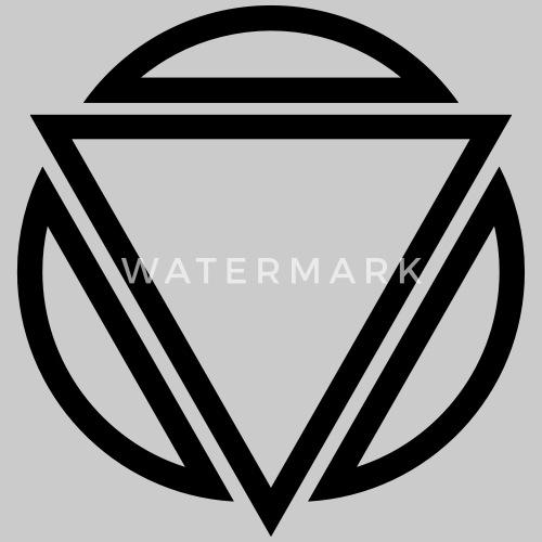 Driehoek Cirkel Logo Vrouwen Premium T Shirt Spreadshirt