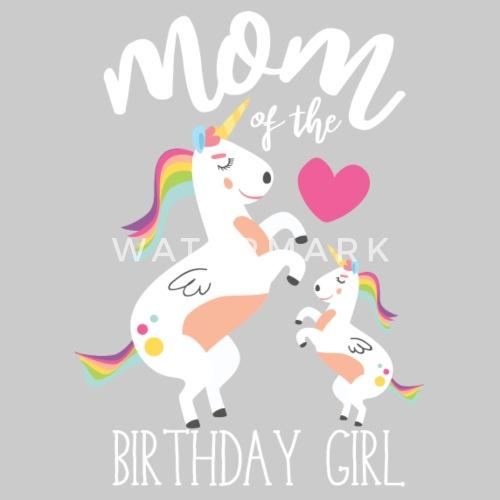 moeder van de verjaardag - verjaardag dochter vrouwen premium t