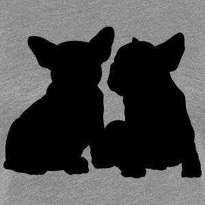 Frenchie - Frauen Premium T-Shirt