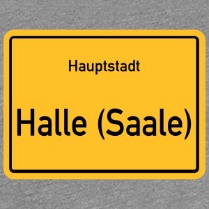 Capital Halle Saale - Premium T-skjorte for kvinner