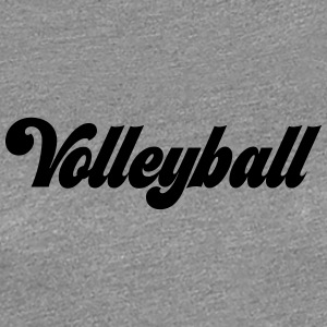 volleyboll - Premium-T-shirt dam