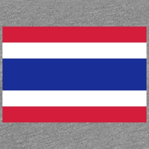 National Flag Of Thailand - Dame premium T-shirt