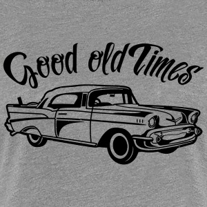 Everything was better - the good old days! - Women's Premium T-Shirt