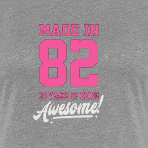 MADE IN 1982 - 35 ans - T-shirt Premium Femme
