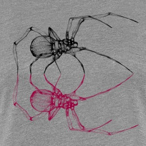 black_widow - Frauen Premium T-Shirt