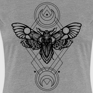 sacred geometry - Geometric -Sfinge dead head - Women's Premium T-Shirt