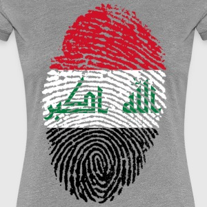 IRAQ FINGERABDRUCK - Frauen Premium T-Shirt