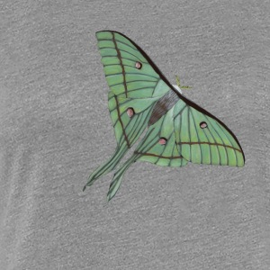 Indisk moon moth - Butterfly - Premium-T-shirt dam