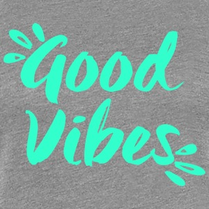 Good Vibes - Yoga - Women's Premium T-Shirt