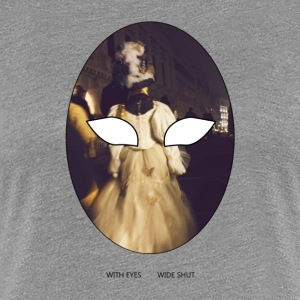 WITH EYES WIDE SHUT - Maglietta Premium da donna