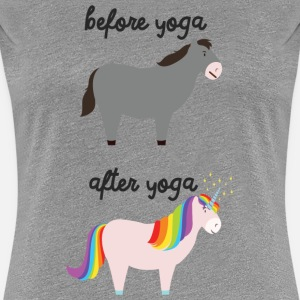 Before Yoga - After Yoga
