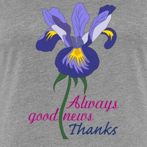 English iris - Women's Premium T-Shirt