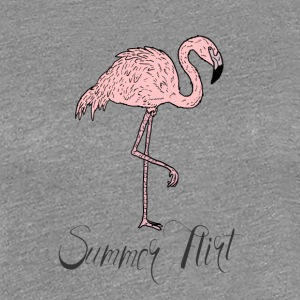 Pink Flamingo Summer Flirt T-Shirt & Accessories - Women's Premium T-Shirt