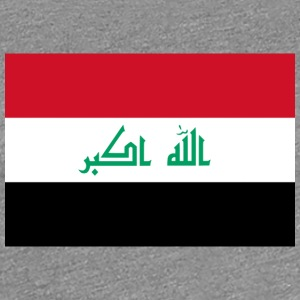 National Flag Of Iraq - Women's Premium T-Shirt