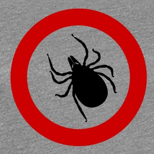 Caution tick / ticks / Punk / Punk / parasite - Women's Premium T-Shirt