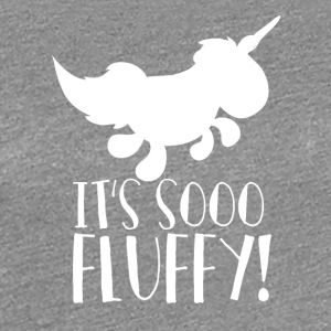 Unicorn - So flauschig! - So fluffy - Frauen Premium T-Shirt