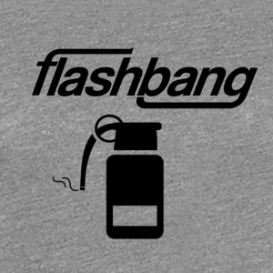 Flash Bang Log - 50kr Donation - Premium T-skjorte for kvinner