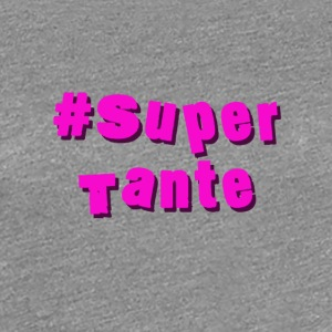 supertante - Premium T-skjorte for kvinner