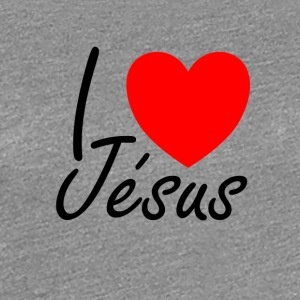 I love Jesus - Women's Premium T-Shirt
