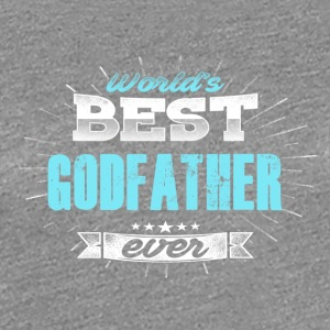 World's Best Godfather - Vrouwen Premium T-shirt