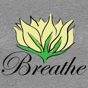 Yoga Breathe - Women's Premium T-Shirt
