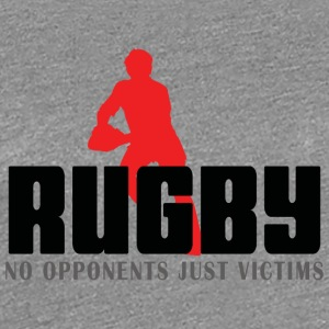 Rugby Ingen Modstandere Just Ofre - Dame premium T-shirt