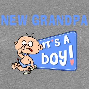 New Grandpa Personalize with Date or Name - Women's Premium T-Shirt