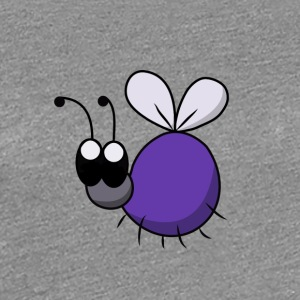 Phantasya Cutiefly Purple - Frauen Premium T-Shirt
