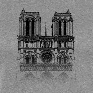 Around The World: Notre Dame - Paris - Dame premium T-shirt