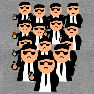 Men In Black - Dame premium T-shirt