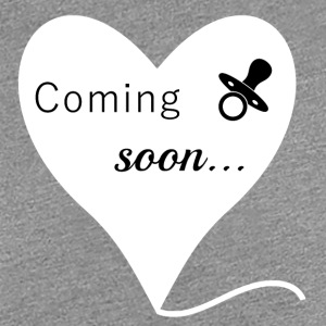 Pregnancy, baby belly, Coming soon - Women's Premium T-Shirt