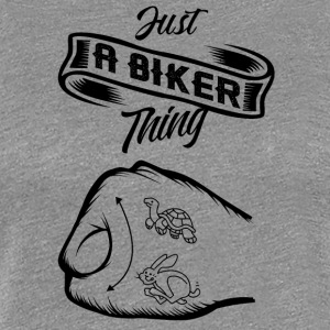 Just a Biker thing! - Frauen Premium T-Shirt
