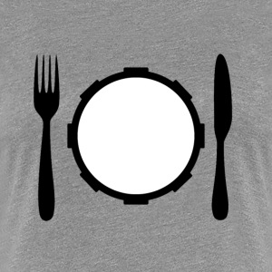 Eat of your snaredrum - Vrouwen Premium T-shirt