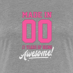 MADE IN 2000 - 17 ans - T-shirt Premium Femme