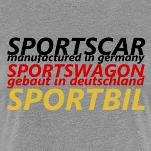 Sports Car - Premium T-skjorte for kvinner